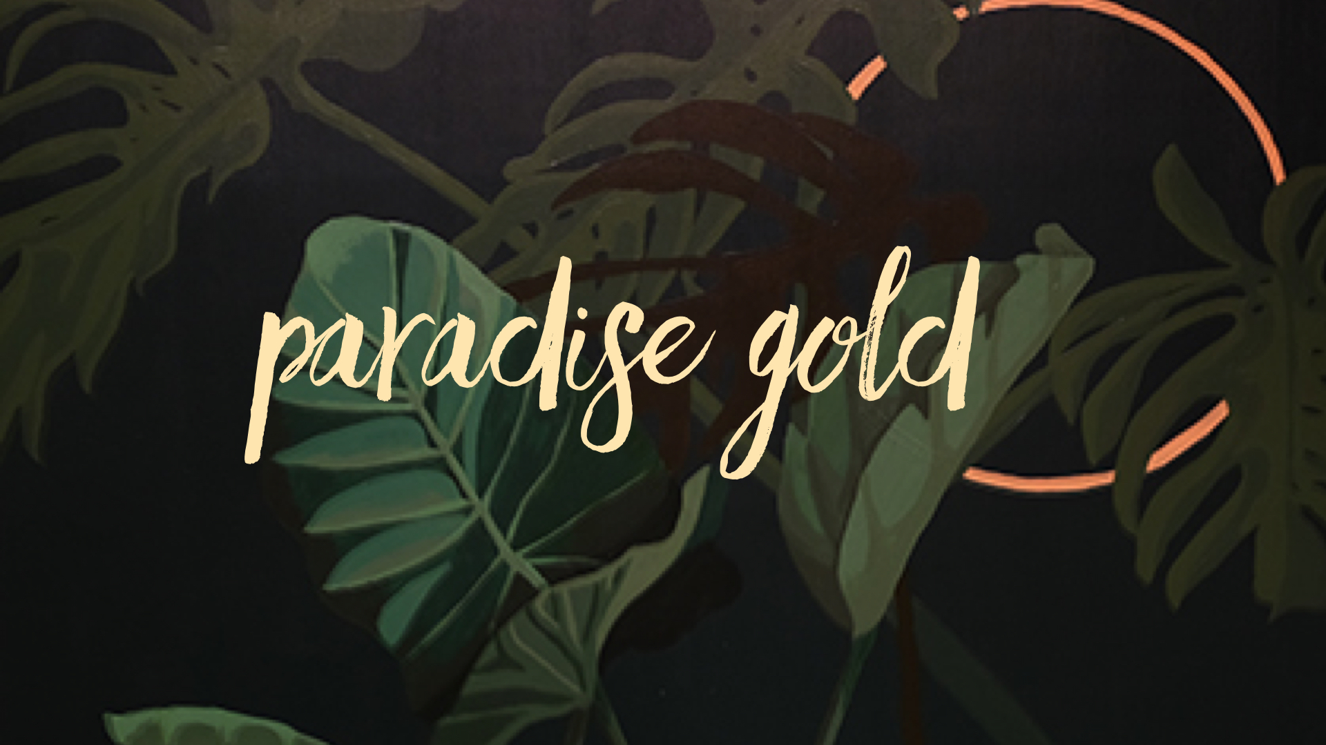 Paradise Gold – Sara Cannon Art opening at TrimTab Brewing June 2!