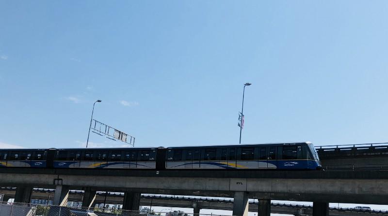 【溫哥華的大眾交通工具】搭Skytrain (捷運/天車)玩溫哥華 |Skytrain介紹