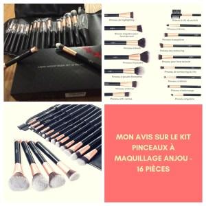Kit pinceaux à maquillage Anjou