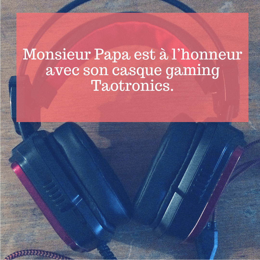 Casque gaming Taotronics