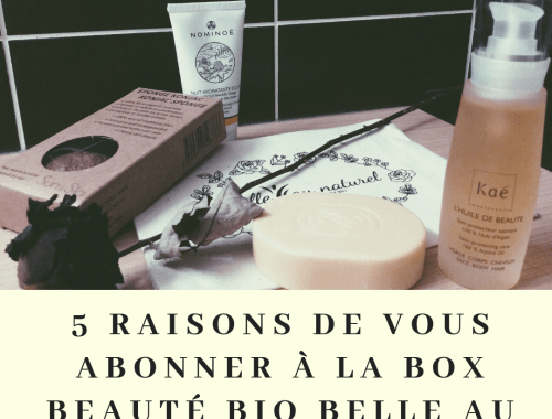Box beauté bio belle au naturel