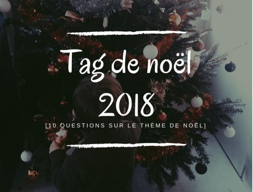 Tag de noël 2018 : 10 questions sur le thème de noël