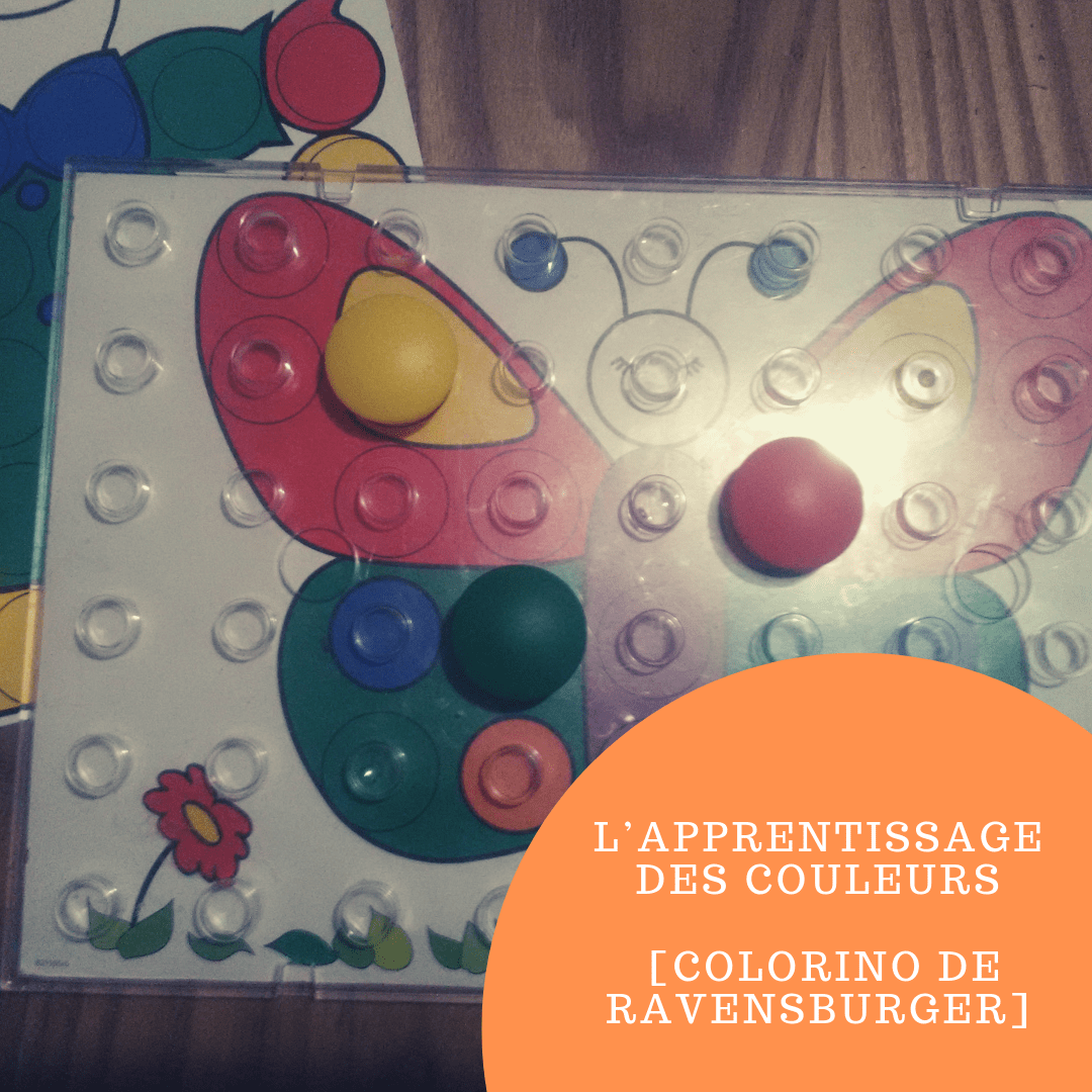 L'apprentissage des couleurs [Colorino de Ravensburger]
