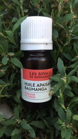 l'huile apaisante Baumanga Bioles joyaux de madagascar
