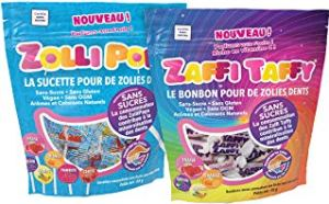 Zollipops, les bonbons qui respectent les dents!
