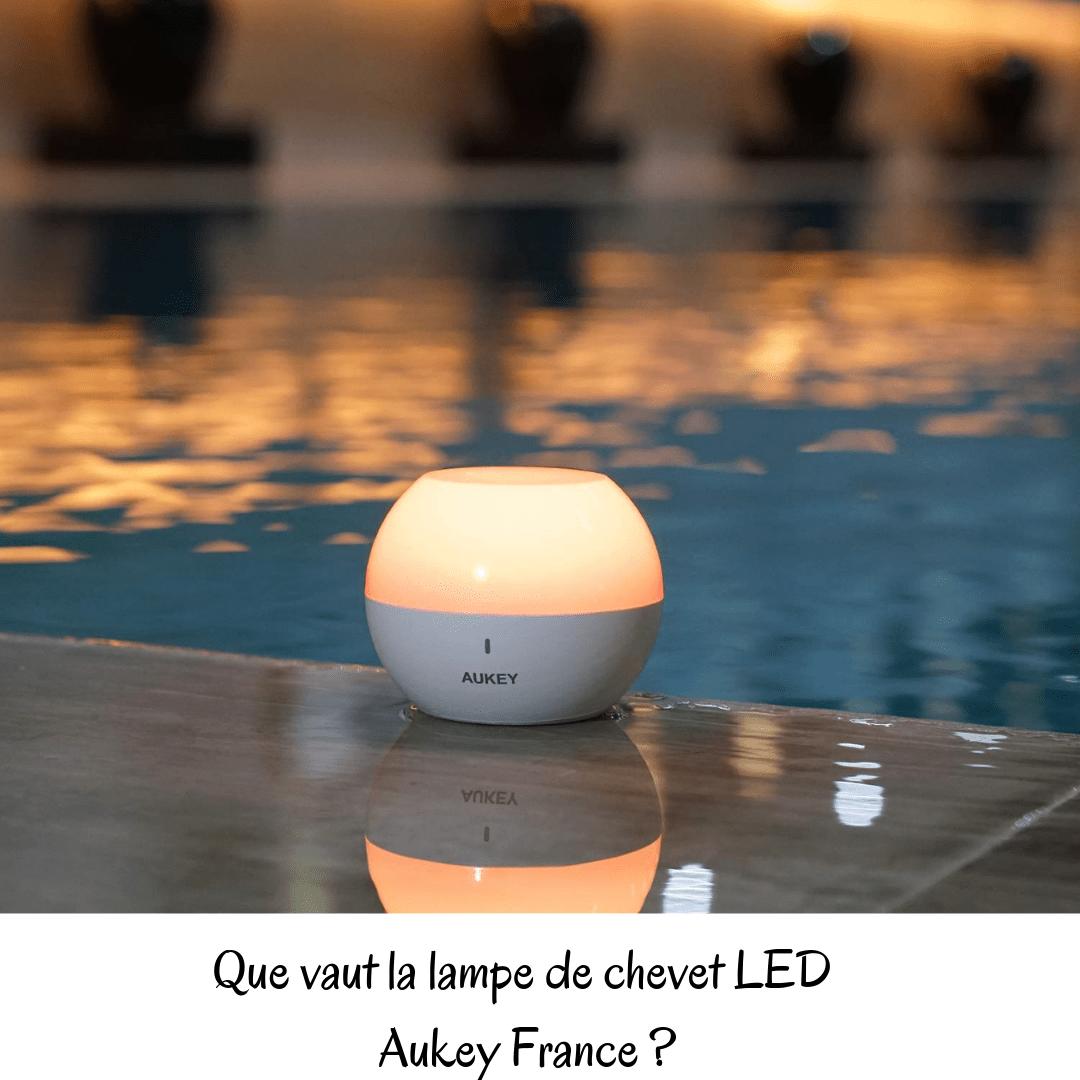 La Sur Avis De Chevet FranceMon Aukey Led Lampe JKFT3l1c