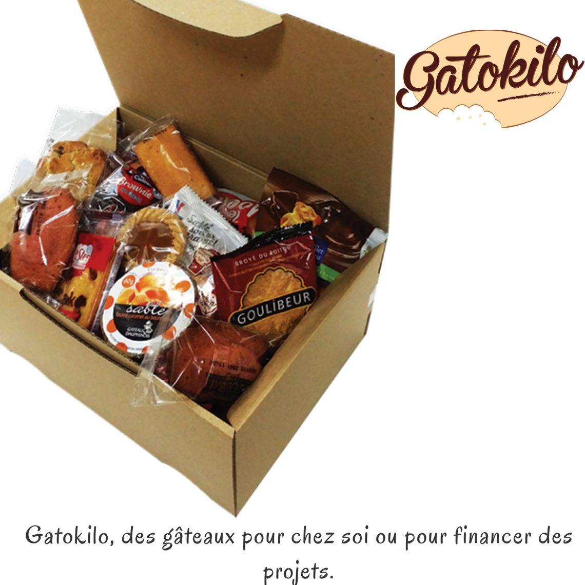 Gatokilo, des gâteaux pour chez soi ou pour financer des projets.