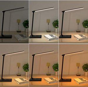 Aukey France, la lampe de bureau pliable qu'il vous faut !