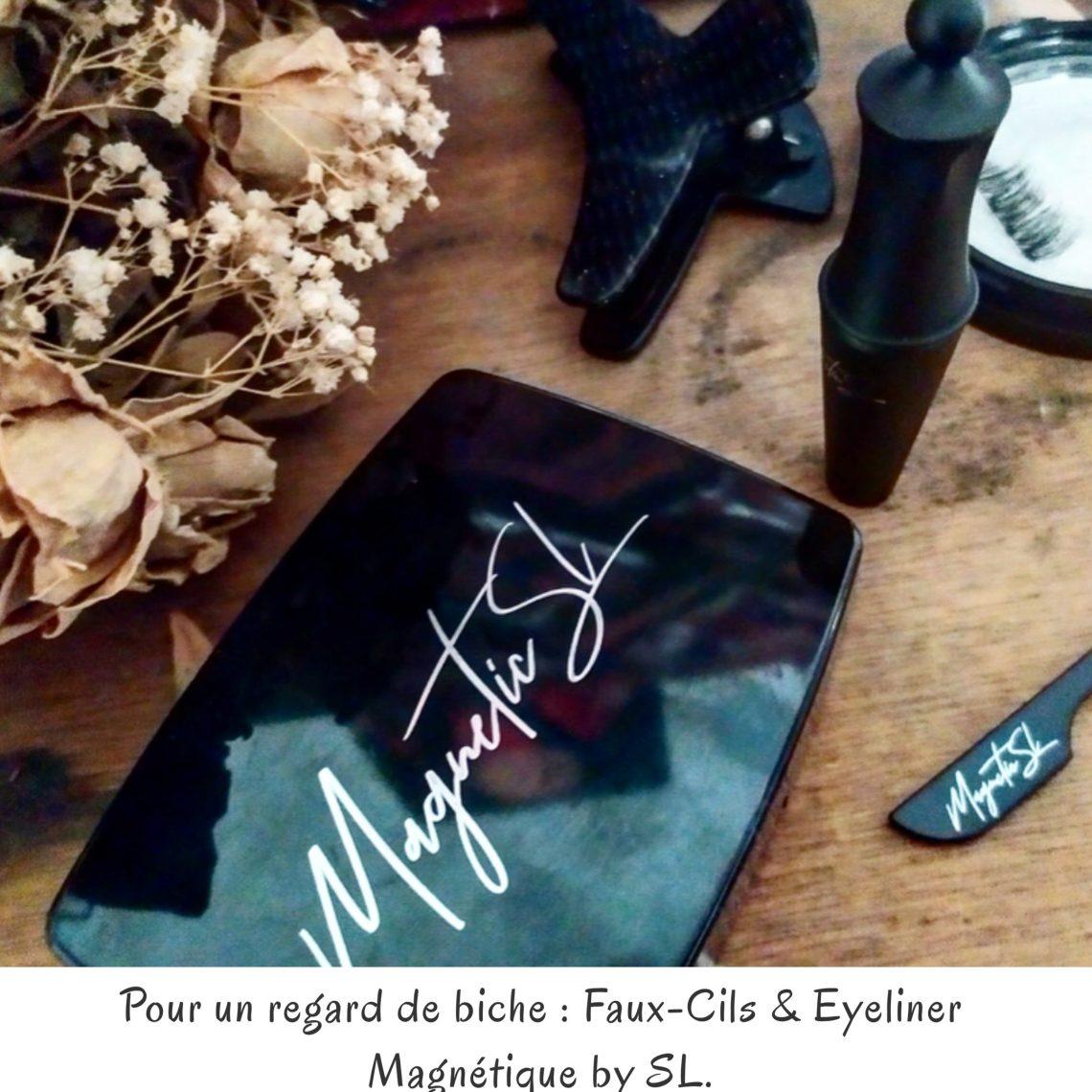 Pour un regard de biche : Faux-Cils & Eyeliner Magnétique by SL.