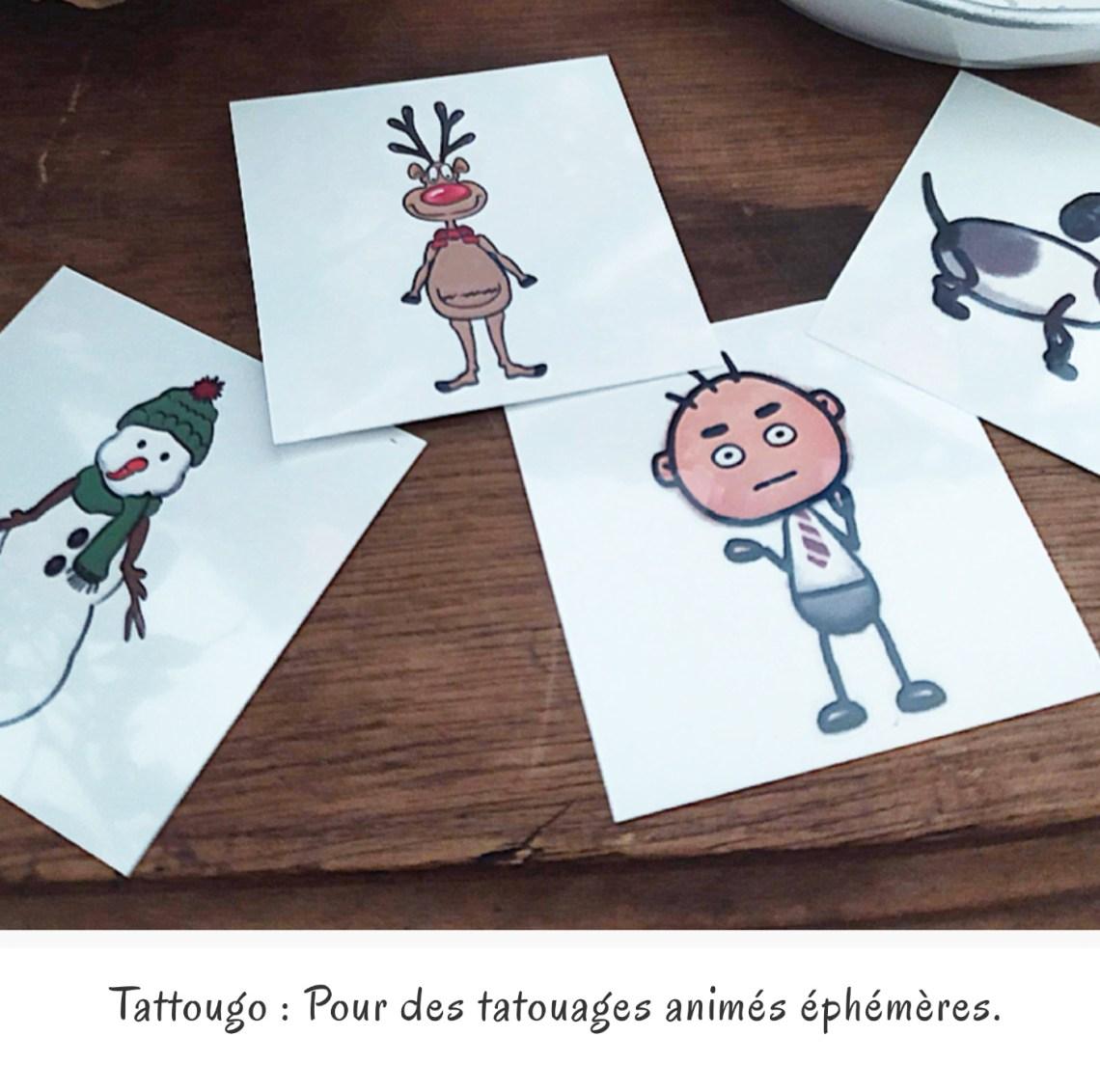 Tattougo : Pour des tatouages animés éphémères.