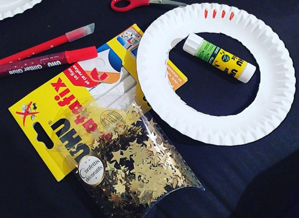 DIY : 3 bricolages de Noël pour enfants avec des assiettes en carton.