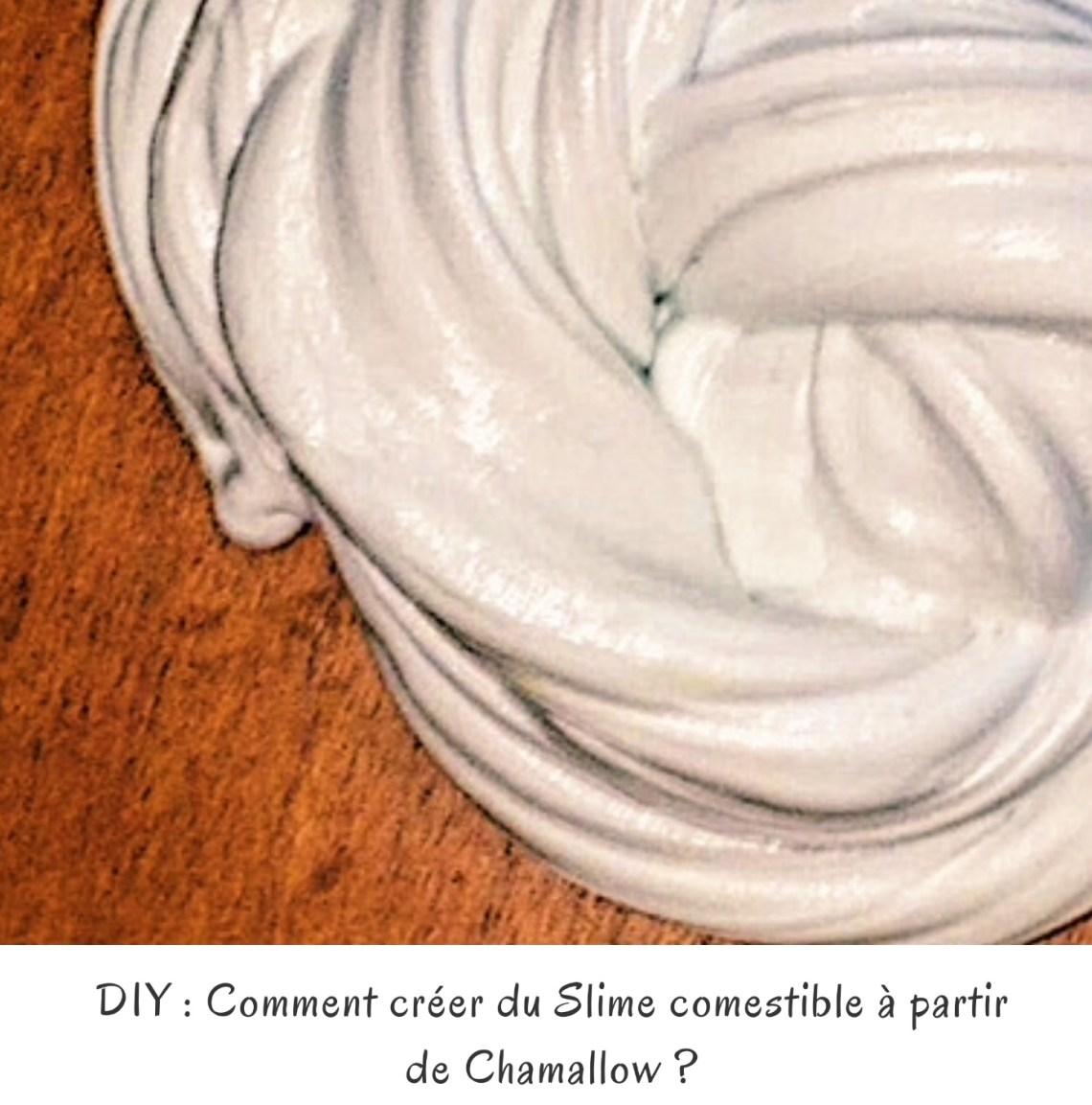 DIY : Comment créer du Slime comestible à partir de Chamallow ?