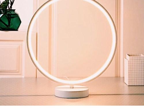 Aukey France : Zoom sur la lampe LED circulaire « Aura »