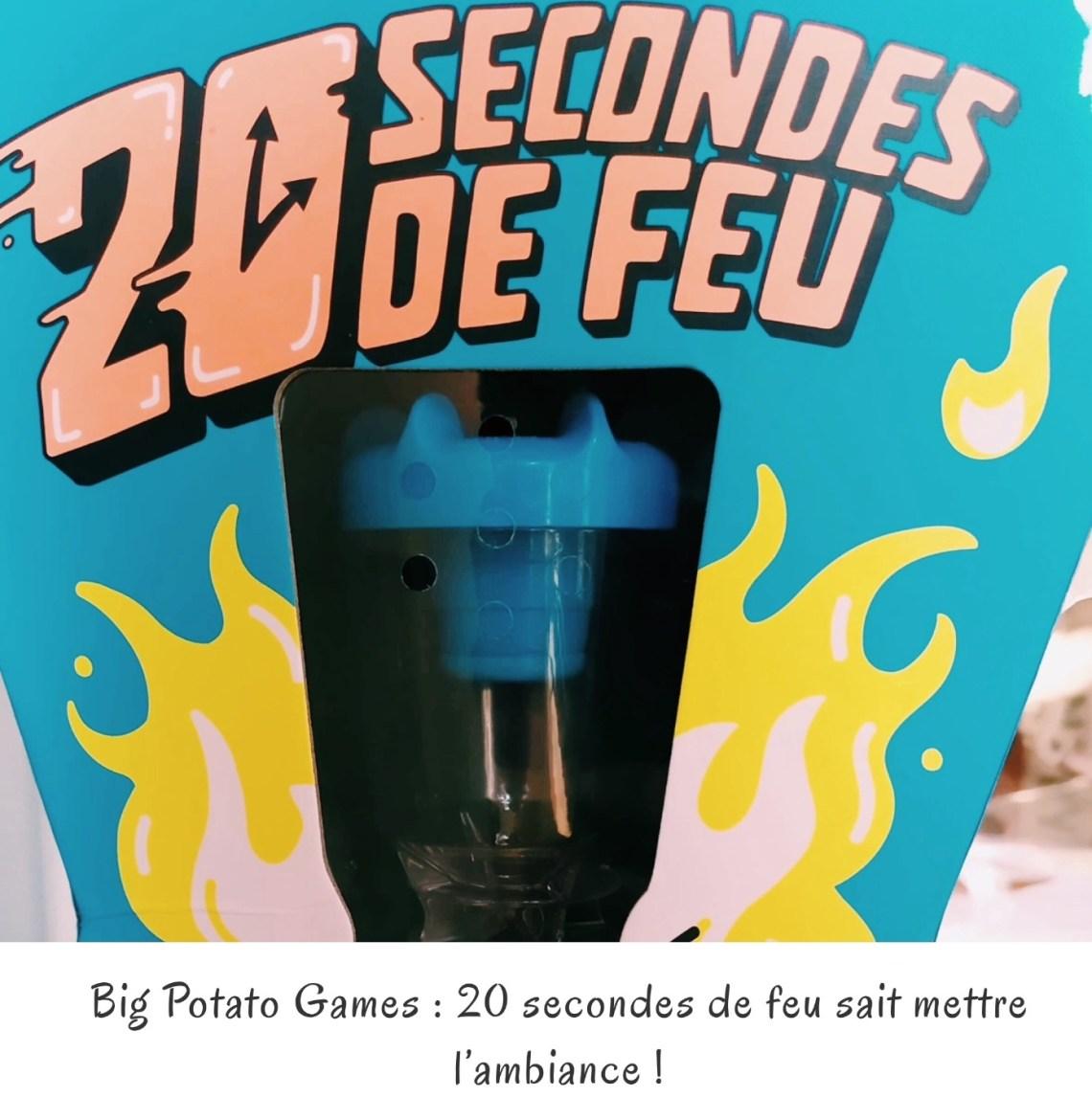Big Potato Games : 20 secondes de feu sait mettre l'ambiance !