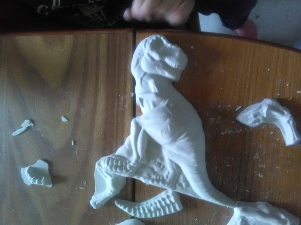 Kit de moulage t rex