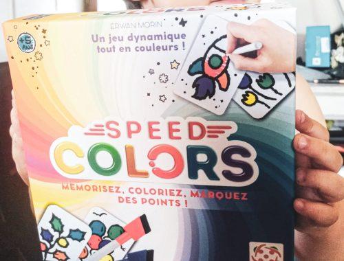 Bankiiz Éditions : Quel est notre avis sur le jeu Speed Colors ?