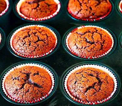 Gourmandise pour le goûter : Recette de muffins aux carambars caramel.