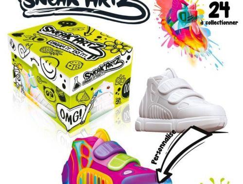 Zoom & Avis :Initiationà la customisation avec les Sneak'Artz.