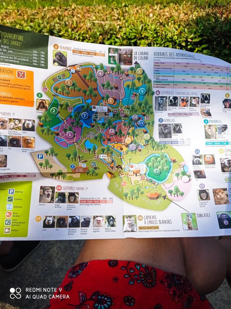 Plan vallée des singes