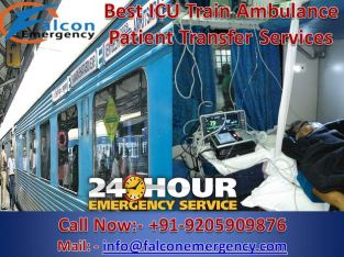 Falcon Emergency Train Ambulance Services in Delhi – The Best Doctor Available