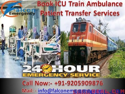 Get Fastest and Safest Train Ambulance Services in Kolkata – Falcon Emergency