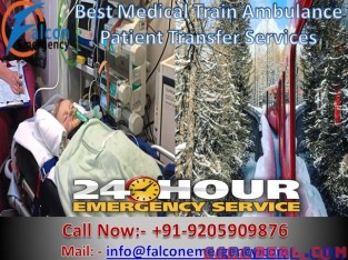 Reliable Train Ambulance Services in Lucknow at Low Rates – Falcon Emergency