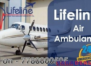 Lifeline Air Ambulance in Indore Stabilizes Complicated Patient Onboard At Ease