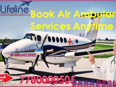 Lifeline Air Ambulance in Lucknow Endows Smooth and Swift Medical Transfer
