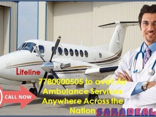 Lifeline Air Ambulance in Bhopal Assign Skilled Crew for Patient Monitoring