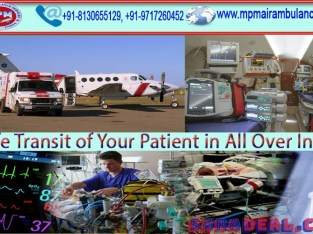 Avail the Modern Equipped Train Ambulance Service in Ranchi by MPM