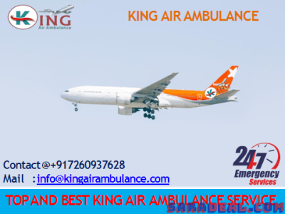 Kolkata to Delhi King Air Ambulance service with Medical