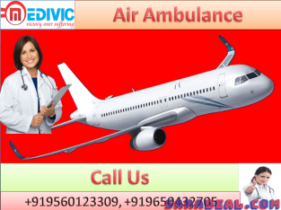 Get Air Ambulance Services in Bangalore by Medivic Aviation at Low Cost
