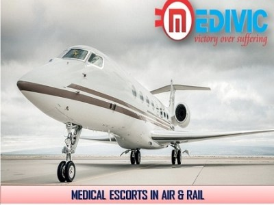 Book ICU Based Emergency Air Ambulance in Mumbai by Medivic