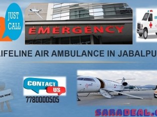 Access Highly Adept Air Ambulance from Jabalpur Proffered by Lifeline