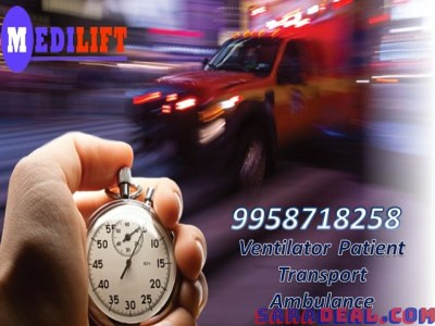 Get Dhanbad Road Ambulance at Low Amount by Medilift