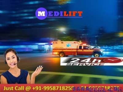 Medilift Ambulance Service in Delhi – Good to avail all Features
