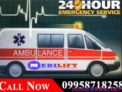 Finest of Medical Road transportation service in Dhanbad by Medilift