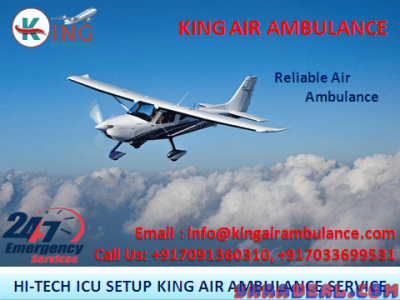 Top and Demanding Air Ambulance in Mumbai by King