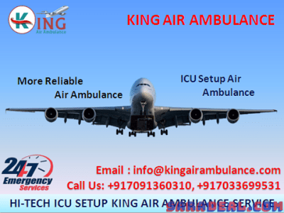 Best to Relocation – King Air Ambulance in Ranchi with Medical Support