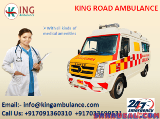 Top-Class ICU Ambulance Service in Nagra Toli by King