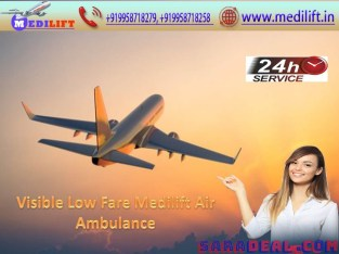 Get Top-Leading Air Ambulance Service in Chennai by Medilift