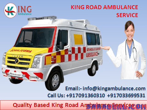 Take Reliable Patient Transfer Ambulance Service in Samastipur by King Ambulance