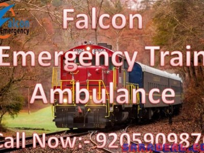 Get Superfast Train Ambulance in Varanasi with ICU Facility by Falcon Emergency