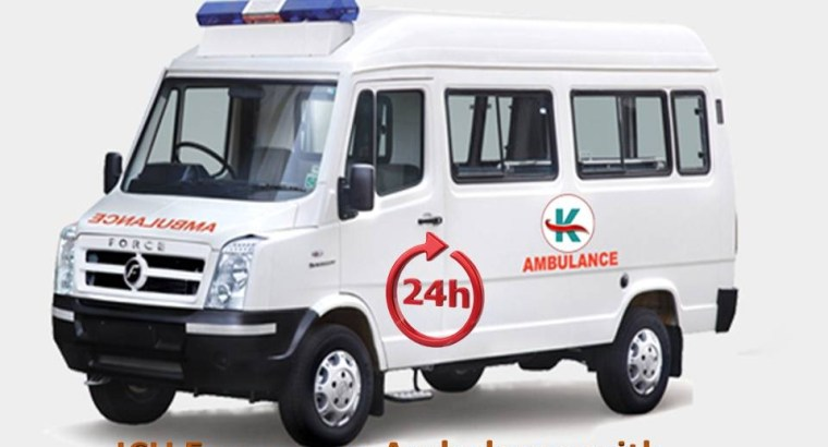 King Ambulance Service in Nagra Toli, Ranchi with Hi-Tech Facility