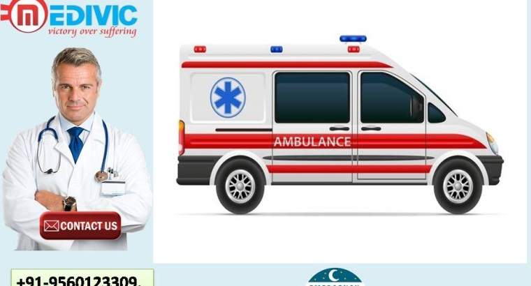 Instant Support Ambulance Service in Mawlai by Medivic Ambulance Services