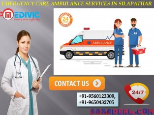 Emergency Care Ambulance Services in Silapathar, Assam by Medivic Ambulance Services