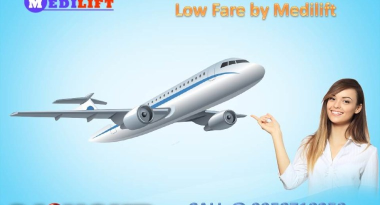 Avail Medilift Complete Medical Care Air Ambulance Service in Bangalore