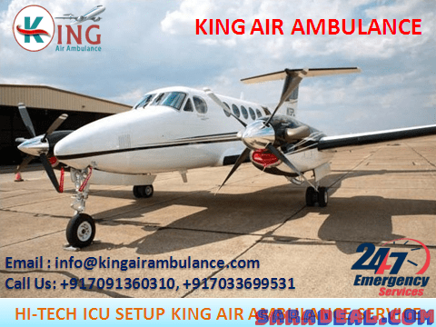 Choose the Finest Air Ambulance Services in Allahabad-King Air Ambulance