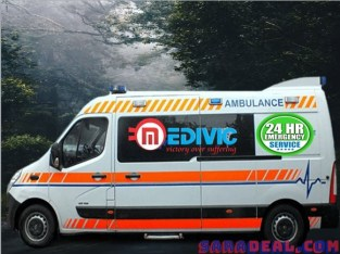 Top-Class Medivic Ambulance Service in Kidwaipuri at Low-Fare