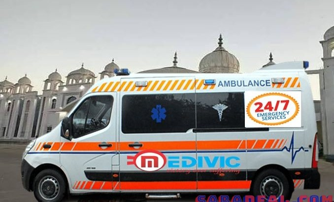 Hire Superior Ambulance Service in Dumka with Medical Tool by Medivic